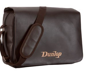 Bolso Morral Dunlop Simil Cuero Porta Laptop Marron