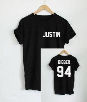 Remera Justin Bieber  94 Espalda