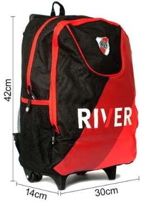 River Plate Mochila Carro Rp4241d Lic Original Dis Zetateam