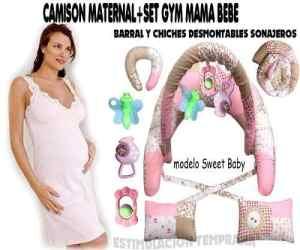 Camison Maternal+set Gym Mama Bebe.10 Productos!!!!
