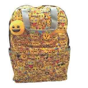 Mochila Espalda 16 Pulgadas Emoji Emoticones - Mundo Manias