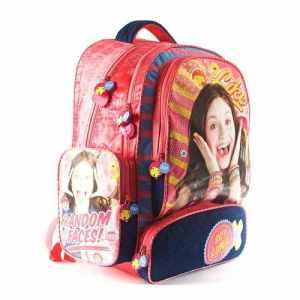 Mochila Espalda Premium Soy Luna 18p Escolar Original