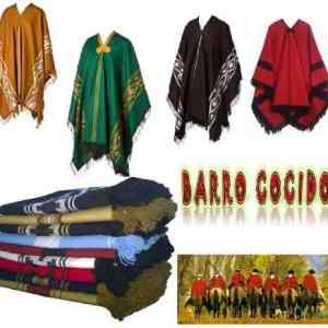 Ponchos De Gaucho Salteño Sureño Guardapampa Vs Colores