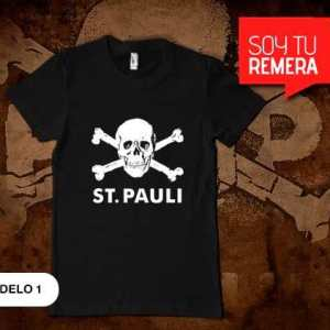 Remeras St. Pauli Alemán Punk Rock