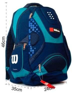 Wilson Mochila Original Azul Celes Ergonomica 13130 Zetateam