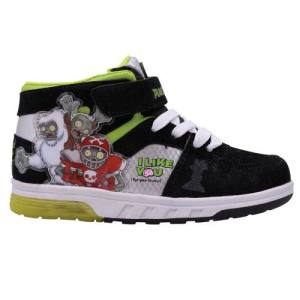 Zapatillas Plantas Vs. Zombies Con Luces Footy Mundo Manias