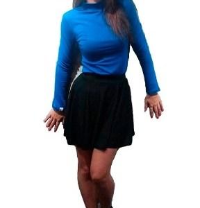 1 Pack De 3 Medias Poleras Mujer Modal Con Lycra S