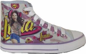Zapatillas De Soy Luna Disney Tipo Botitas Artesanales