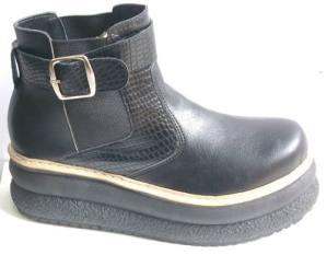 Botas Botinetas Canelon Elastizadas Art 559 Zapatos Borcegos