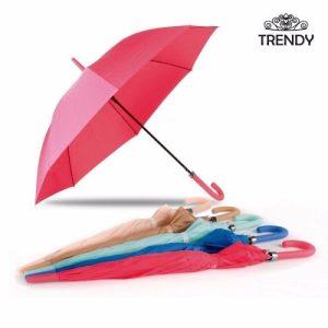 Paraguas Largo Para Dama Trendy Muy Buena Calidad / E-sotano