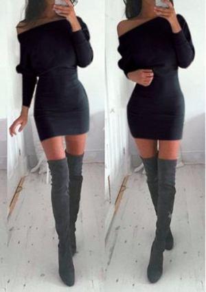 Vestido  Carol – Corto- Lanilla – Invierno- Mangas Largas