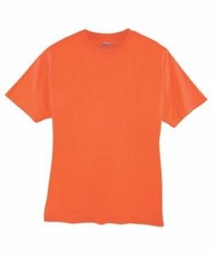 Remeras Naranjas Lisas