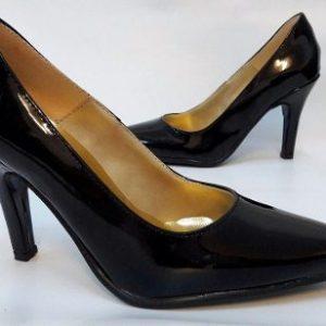 Zapato Mujer Stiletto Luis Xv Charol Fiesta - Tequilaonline