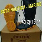 Bota De Lluvia - Calfor Pampeana - Nautica Mod. Marin - Azul