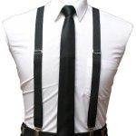 Promo Conjunto Tiradores Y Corbata Slim / Corbatin - Unisex