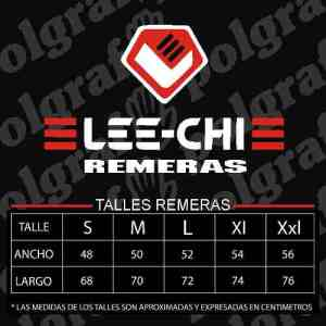 Remeras Lisas Algodon Para Estampar O Bordar Marca Lee-chi