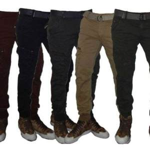 Pantalones Cargos Elastizados  Jeans710