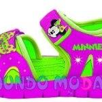 Sandalias Minnie Y Mickey Mouse 2017 Mundo Moda Kids