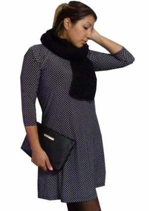 Vestido Seda Fria. Talles Grandes