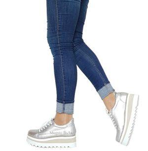 Zapatillas Mujer Moda Plataforma Sneakers   Mugato-bsas®