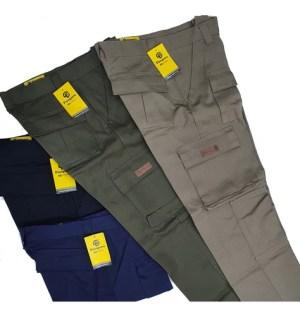 Pantalon Pampero Cargo De Trabajo Reforzado