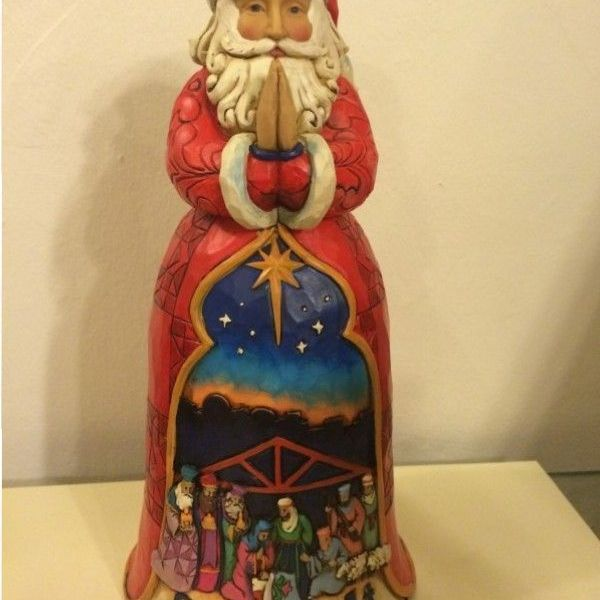 Papa Noel con Nacimiento