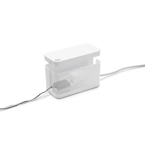 Caja recogecables Cablebox mini blanco 1