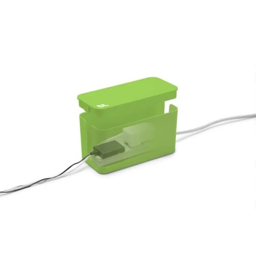 Caja recogecables Cablebox mini negra