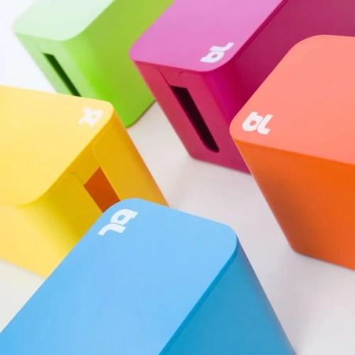 Caja recogecables Cablebox mini blanco