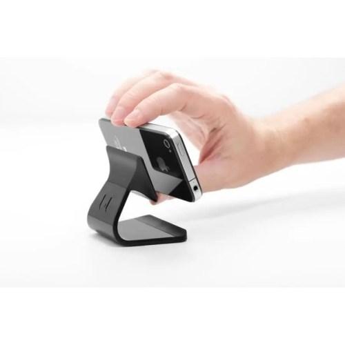 Stand Milo para smartphones color negro