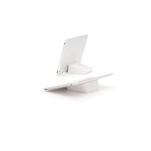 Soporte Nest para ipad, iphone  blanco