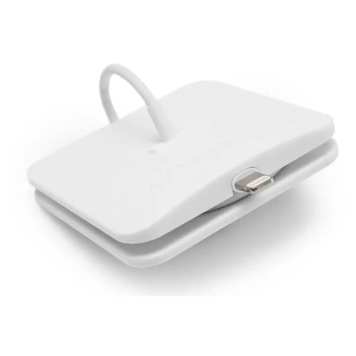 Oranizador Rolio para cable lightning blanco 1