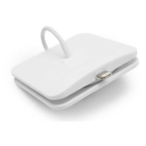 Oranizador Rolio para cable lightning blanco