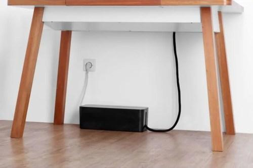 Organizador cable Soba 3m negro