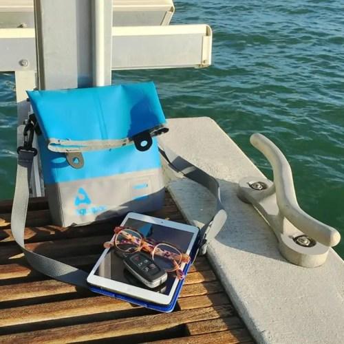 Tote bag trailproof Aquapac 052 IPX3 pequeña gris
