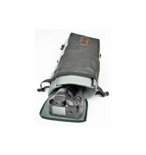 Riñonera multiuso con funda Interior extraible Aquapac 022 grande gris con cinturon