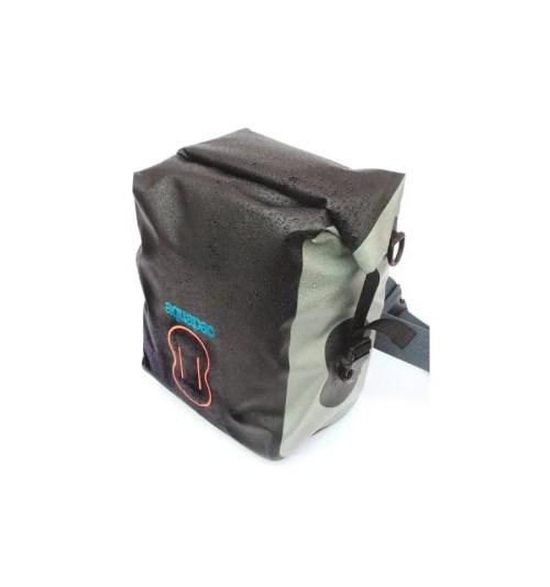 Riñonera multiuso con funda Interior extraible Aquapac 022 grande gris con cinturon 1