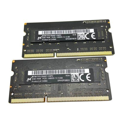 Módulo de memoria Micron SO-DIMM DDR3 4GB 1866 Mhz Original Apple 1
