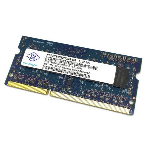 Módulo de memoria Nanya SO-DIMM DDR3 2GB 1333Mhz