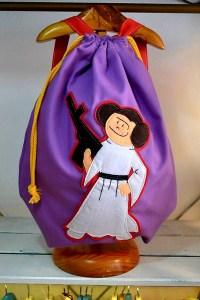 mochila infantil Leia