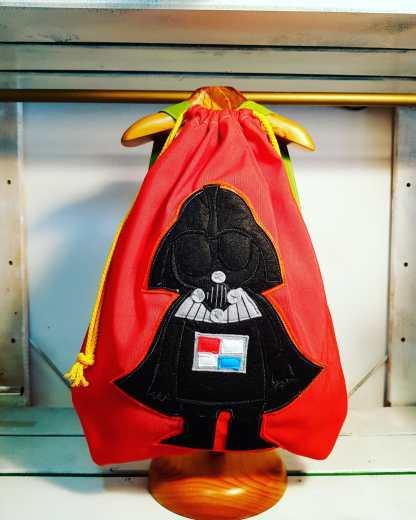 mochila infantil Darth Vader