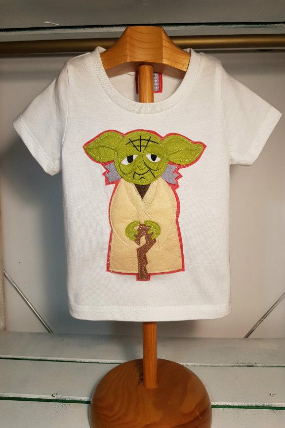 camiseta infantil de Yoda