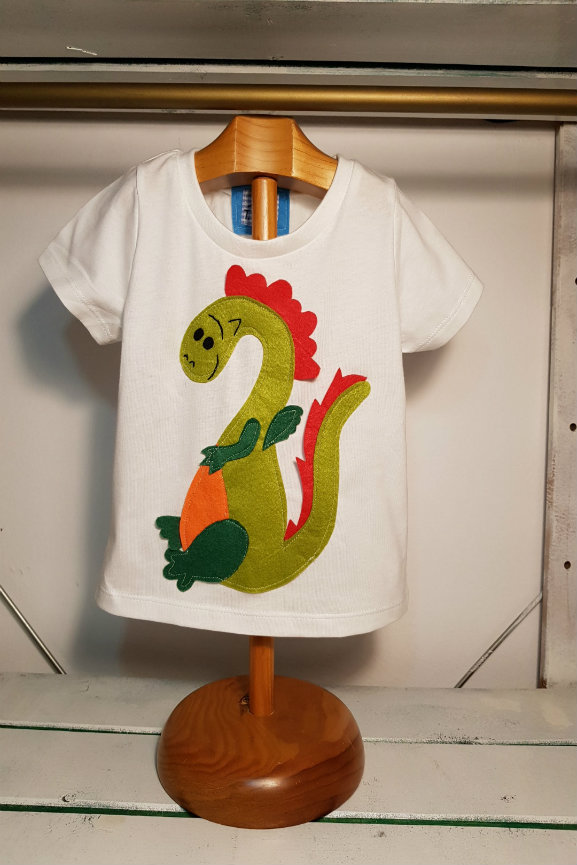 camiseta infantil de Dragon