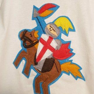 camiseta infantil de sant jordi