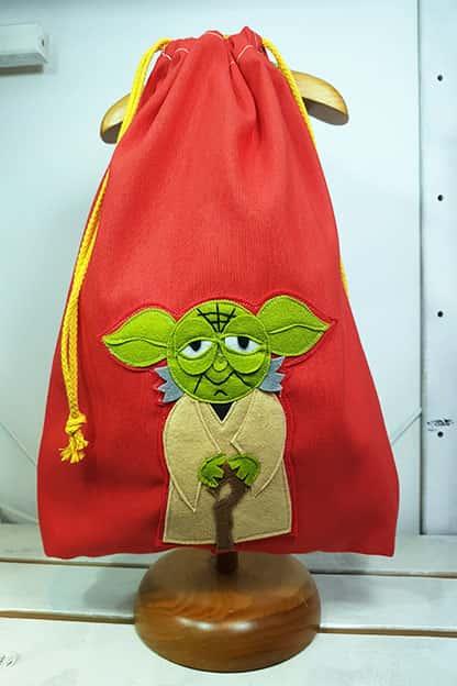 mochila infantil Yoda