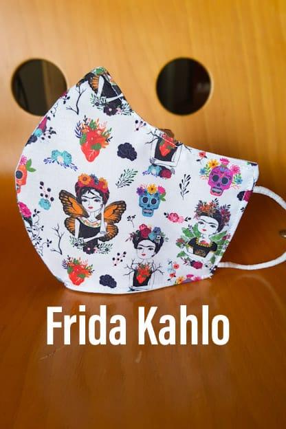 Mascarilla Frida Kahlo