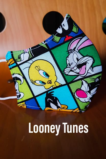 Mascarilla Looney Tunes