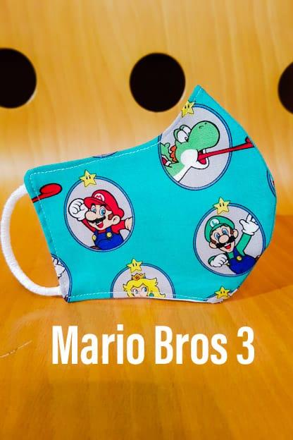 Mascarilla Mario Bros 3