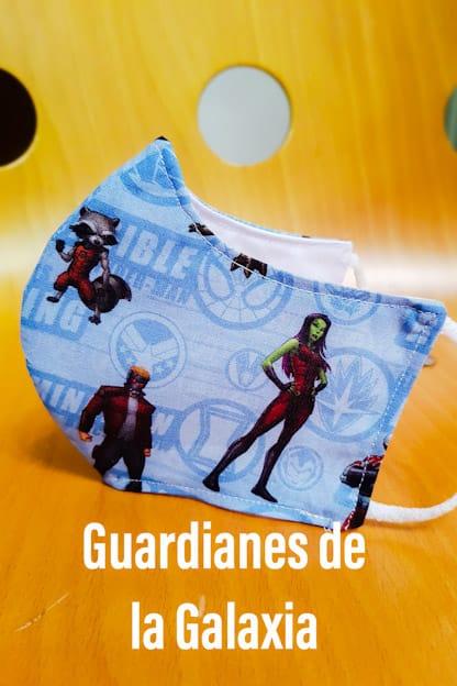 Mascarilla de tela Guardianes de la Galaxia