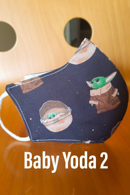 mascarilla Baby Yoda 2